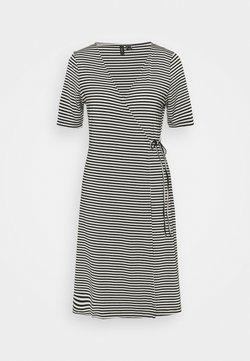 Vero Moda Tall - VMKATE SHORT DRESS - Jerseykleid - black/white