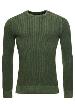Superdry - ACADEMY  - Maglione - seagrass