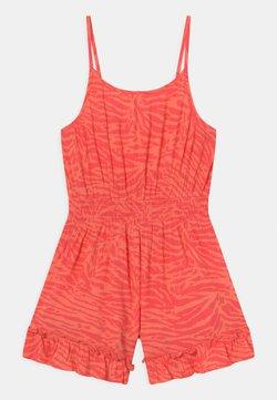 Marks & Spencer London - ZEBRA PLAYSUIT - Jumpsuit - coral