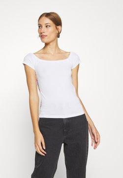 Calvin Klein - BARDOT PRIDE - T-Shirt print - white