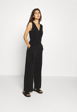 s.Oliver BLACK LABEL - OVERALL LANG - Combinaison - black