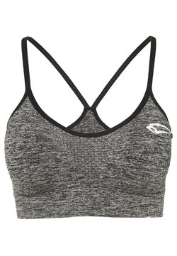 Smilodox - SEAMLESS SPORT BRA CATCH - Sport BH - anthrazit