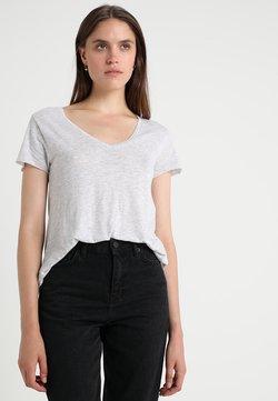 American Vintage - JACKSONVILLE V NECK TEE - T-shirt basique - grey
