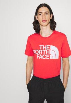 The North Face - STANDARD TEE - Print T-shirt - horizon red
