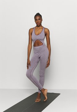 NU-IN - CUT OUT SEAMLESS  - Mono deportivo - purple