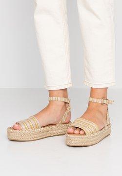 New Look - HAPPYHOUR  - Korkeakorkoiset sandaalit - orange/yellow