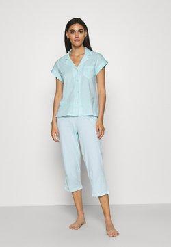 Lauren Ralph Lauren - CAPRI SET - Pyjama - turquoise