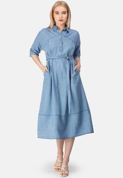 HELMIDGE - Jeanskleid - blau