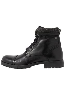 Jack & Jones - JFWMARLY - Schnürstiefelette - black