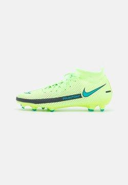 Nike Performance - PHANTOM GT ACADEMY DYNAMIC FIT MG - Chaussures de foot à crampons - lime glow/aquamarine