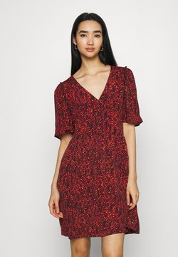 Scotch & Soda - PRINTED DRESS WITH FITTED WAIST - Day dress - combo