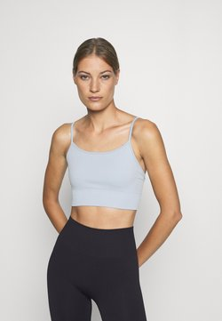 ARKET - YOGA BRA - Sport BH - blue dusty light