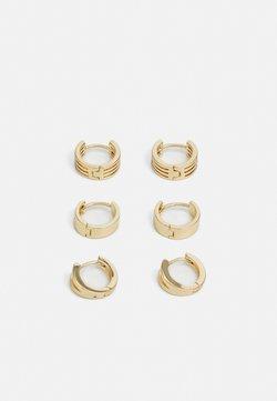 LIARS & LOVERS - CELESTIAL HOOP 3 PACK - Earrings - gold-coloured