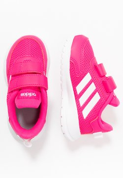 adidas Performance - TENSAUR RUN - Obuwie do biegania treningowe - shock pink/footwear white/shock red