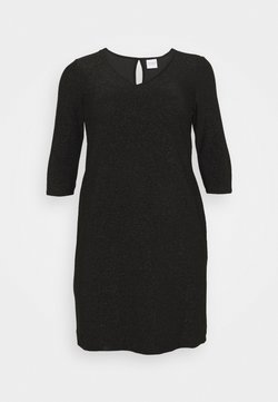JUNAROSE - by VERO MODA - JRSAKINA ABOVE KNEE DRESS - Jerseykleid - black