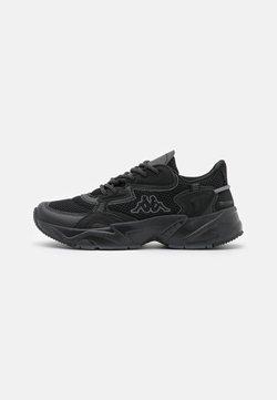 Kappa - CRUMPTON UNISEX - Zapatillas de entrenamiento - black