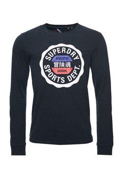 Superdry - SPORT VINTAGE - T-shirt imprimé - eclipse navy