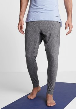 Nike Performance - M NK DRY PANT HPR DRY LT YOGA - Pantalon de survêtement - black