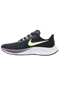 Nike Performance - AIR ZOOM PEGASUS 37 - Neutrala löparskor - black/ghost green/valerian blue