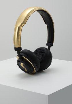 Master & Dynamic - MW50 WIRELESS ON-EAR - Høretelefoner - black / gold