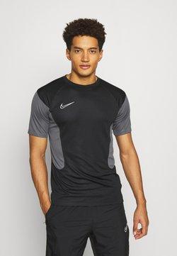 Nike Performance - DRY ACADEMY - Printtipaita - black/iron grey/white