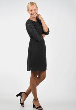 Vero Moda - SPITZENKLEID EVE - Cocktailkleid/festliches Kleid - black