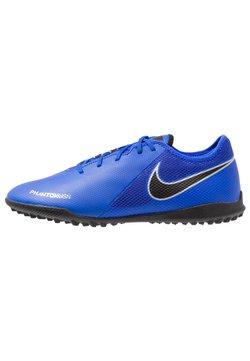 Nike Performance - PHANTOM  VSN ACADEMY TF - Voetbalschoenen voor kunstgras - racer blue/black/metallic silver/volt/white