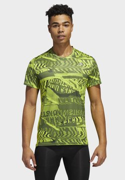 adidas Performance - OWN THE RUN GRAPHIC T-SHIRT - Camiseta estampada - green
