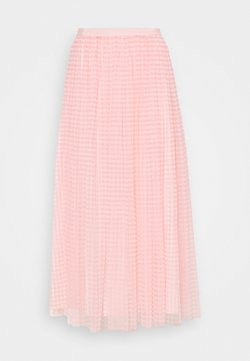 Needle & Thread - GINGHAM BALLERINA SKIRT - A-Linien-Rock - coral/ivory