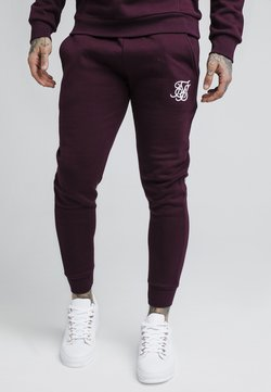 SIKSILK - Jogginghose - burgundy