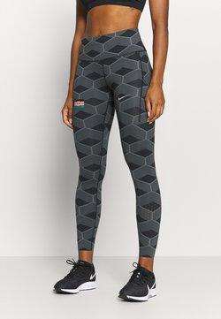 Nike Performance - KENYA EPIC LUX - Collants - iron grey/reflect white