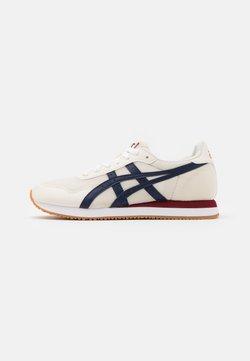 ASICS SportStyle - TIGER RUNNER UNISEX - Sneaker low - cream/peacoat