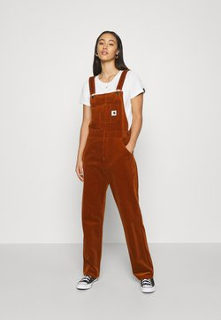 Carhartt WIP - OVERALL STRAIGHT - Salopette - brandy