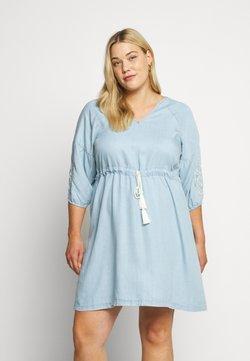 ZAY - YINGE  DRESS - Freizeitkleid - light blue denim