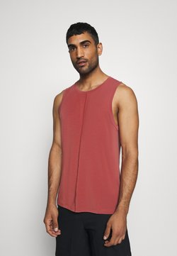 Nike Performance - TANK  - Camiseta de deporte - claystone red/black