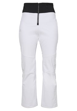 Salomon - REASON PANT - Täckbyxor - white/black