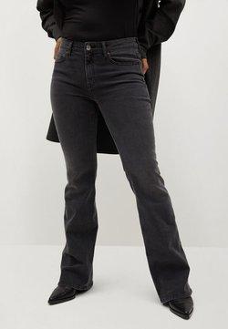 Violeta by Mango - ZENDAYA - Jeans bootcut - denim grau
