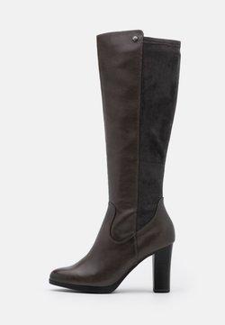 Caprice - BOOTS - High heeled boots - dark grey