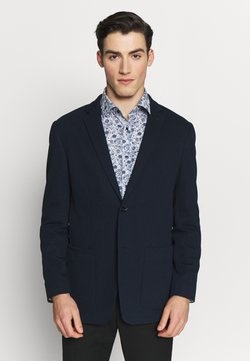 Calvin Klein Tailored - DOUBLE STRUCTURE - Pikkutakki - blue