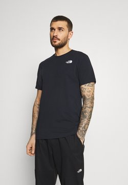 The North Face - REDBOX TEE - T-Shirt print - dark blue/green