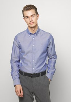 Tommy Hilfiger Tailored - OXFORD BUTTON DOWN SLIM - Businesshemd - blue