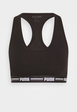 Puma - RACER BACK TOP - Bustier - black