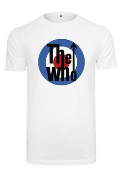 Mister Tee - THE WHO CLASSIC TARGET - T-Shirt print - white
