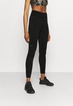 Under Armour - RUSH SEAMLESS ANKLE - Tights - black