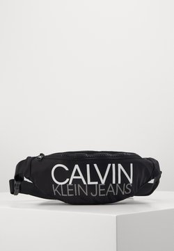 Calvin Klein Jeans - INSTITUTIONAL LOGO WAIST PACK - Saszetka nerka - black