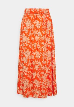 YAS - YASMANISH ANKLE SKIRT  - A-linjainen hame - tigerlily/manish