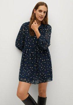 Mango - PRARIE - Vestido camisero - blauw