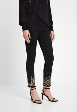 Desigual - DENIM_VIOLETA - Jeans slim fit - black