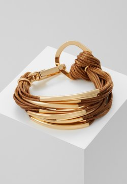 sweet deluxe - ELLA - Armband - gold-coloured/brown