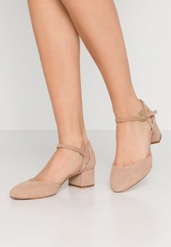 Anna Field Wide Fit - LEATHER - Pumps - nude